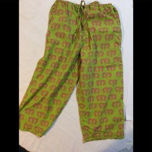 Angela Moore Capri lounge pants